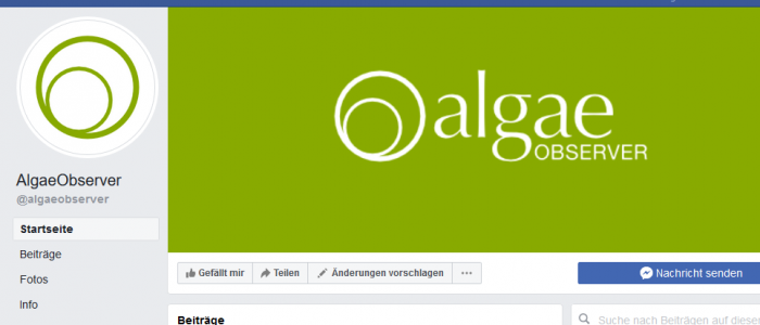 algae news facebook